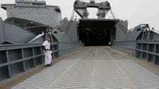 U.S. ship on Syria chemical arms mission in Spain