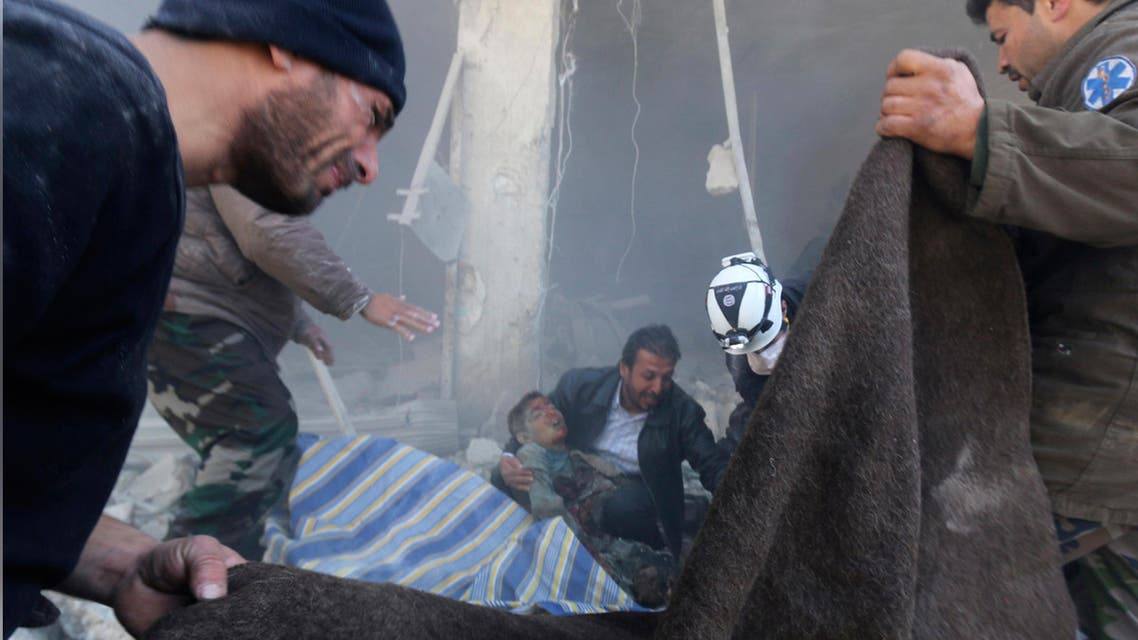 القتل والدمار في سوريا