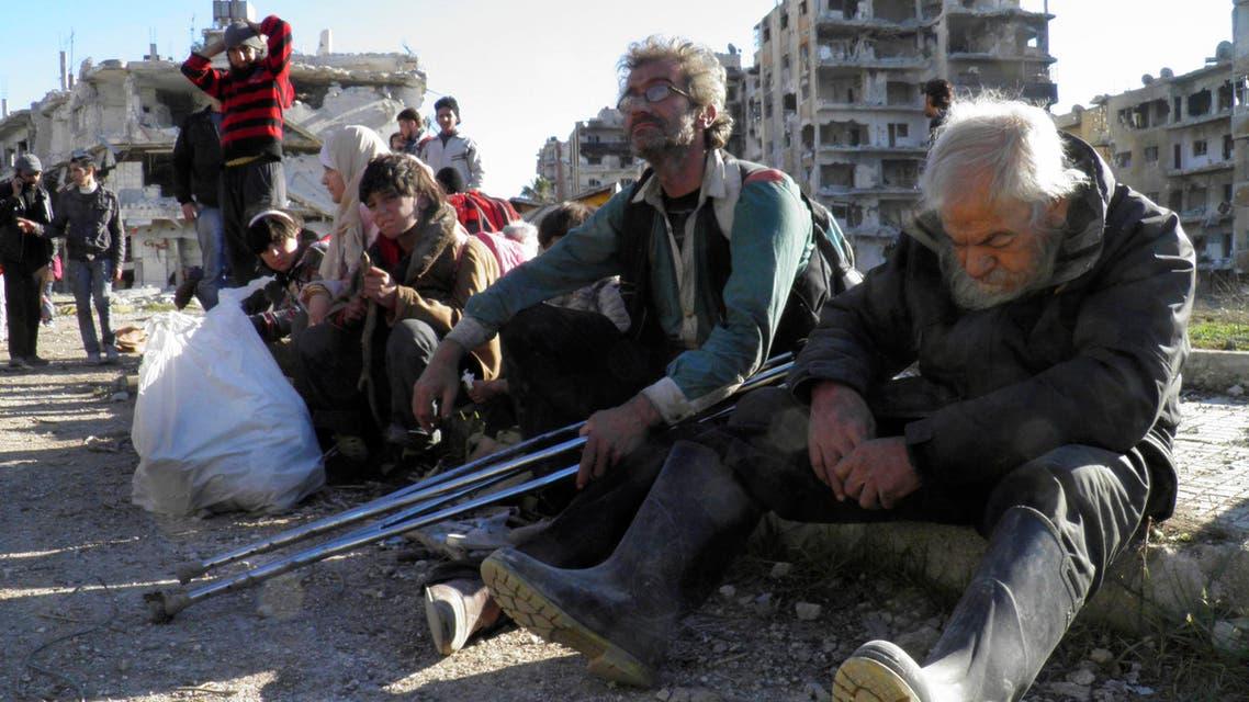 الخارجين من حمص