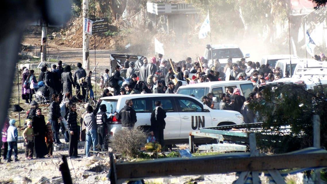 U.N homs reuters