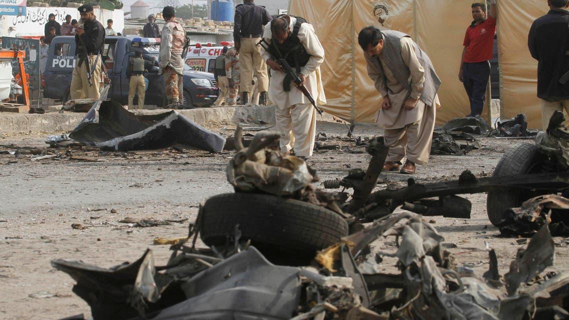 هجمات طالبان في باكستان