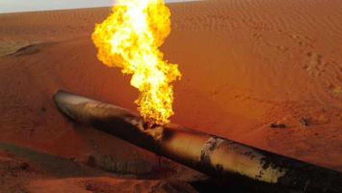 تفجير أنبوب غاز سيناء