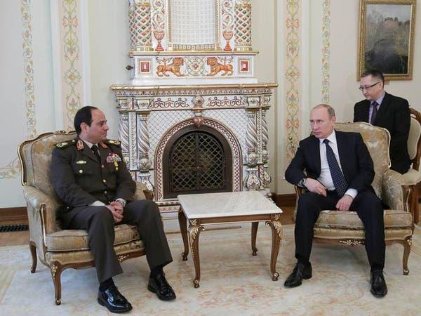 بوتين يؤيد صراحة ترشح السيسي لرئاسة مصر