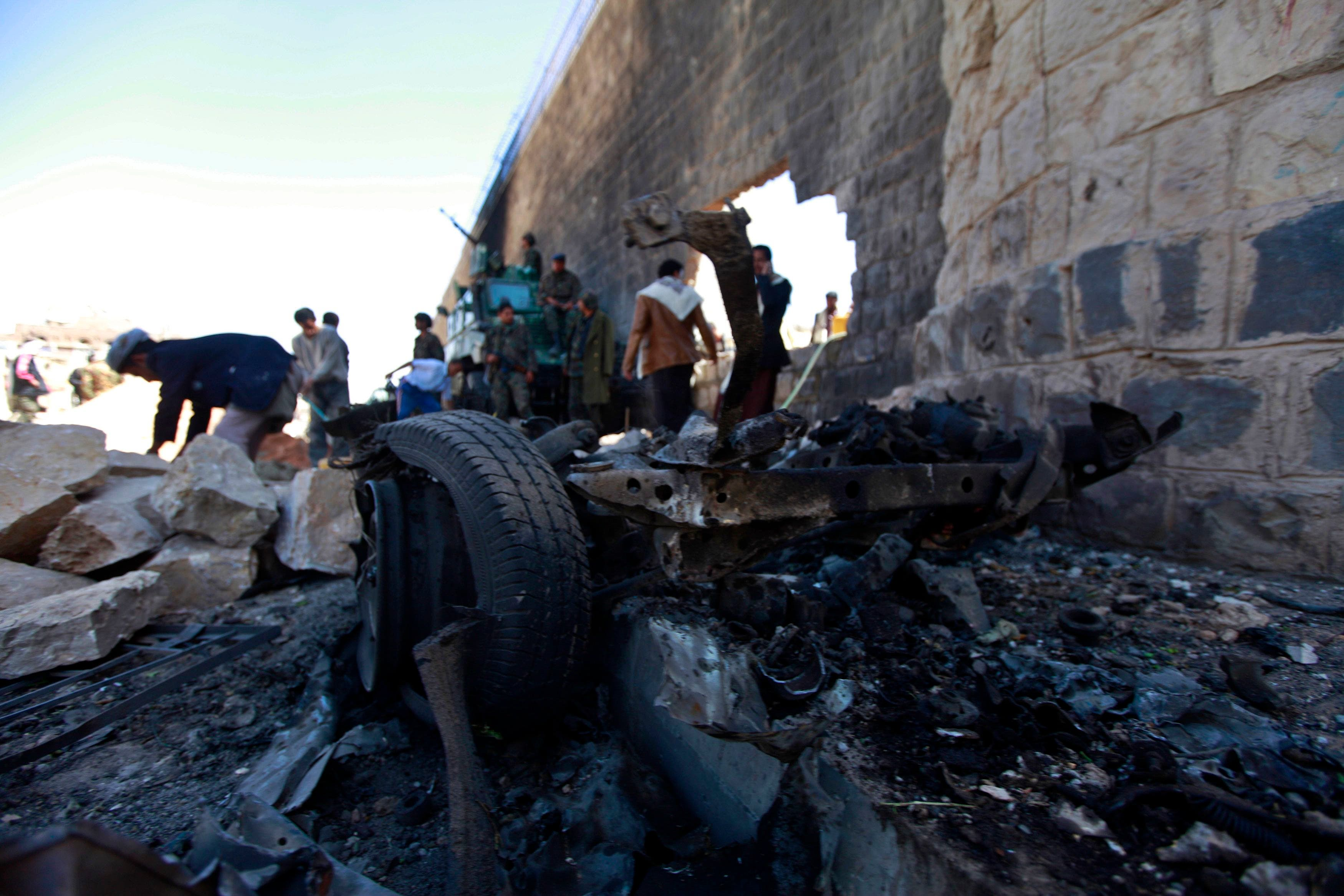 Explosion in Sanaa: the aftermath
