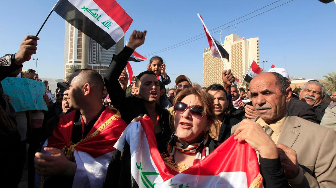 iraq - protests