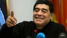 Argentinian star Diego Maradona gets engaged amid disputed paternity claims