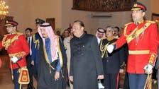 Saudi crown prince visits Pakistan, meets president
