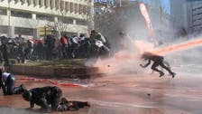 Water cannon hits Turkish reporter, causes stir