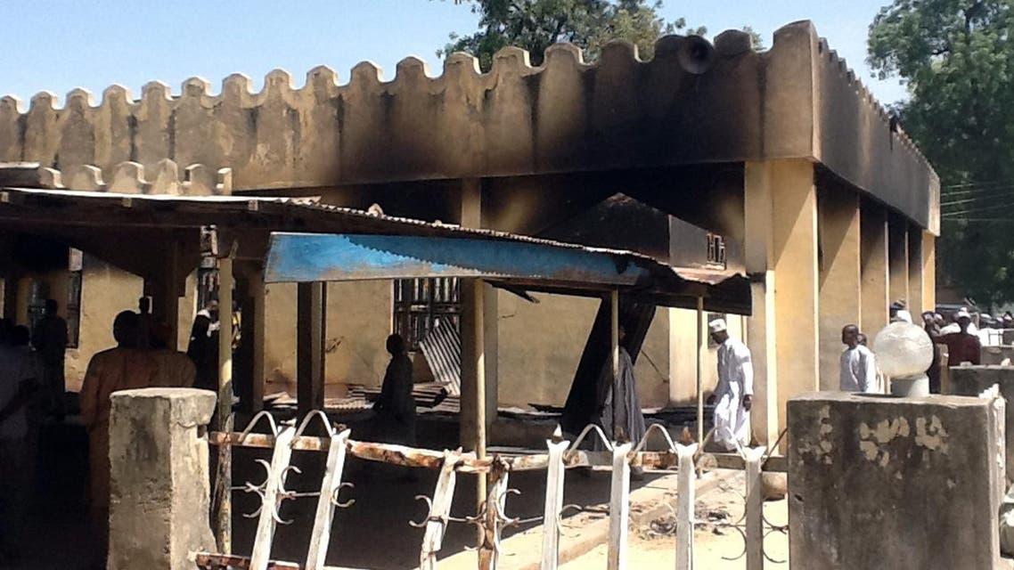 من اثار هجوم جماعة بوكو حرام