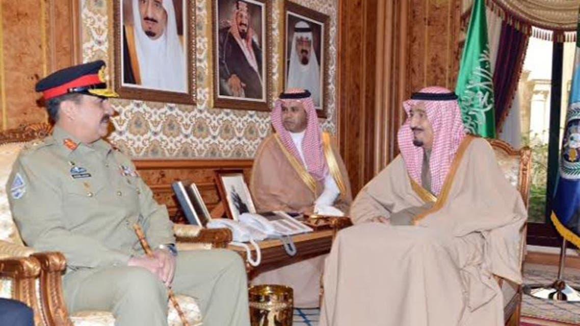 Gen Raheel and salman bin abdul aziz