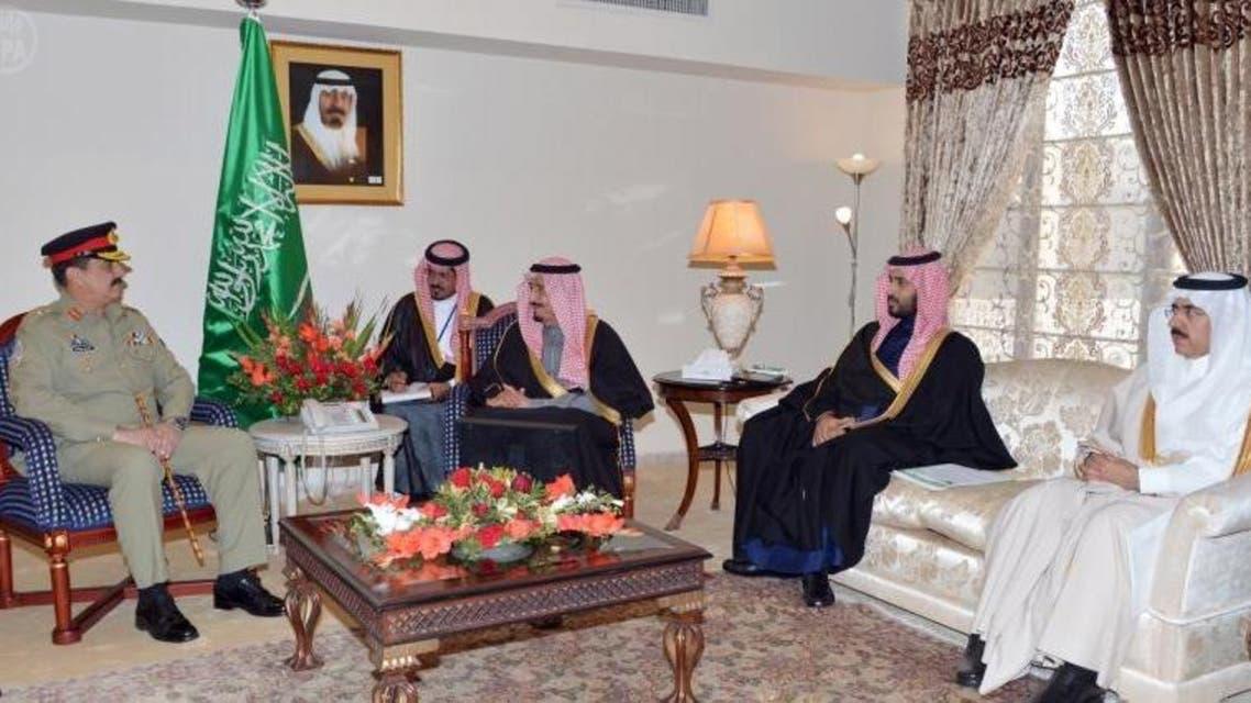الأمير سلمان- زيارة باكستان