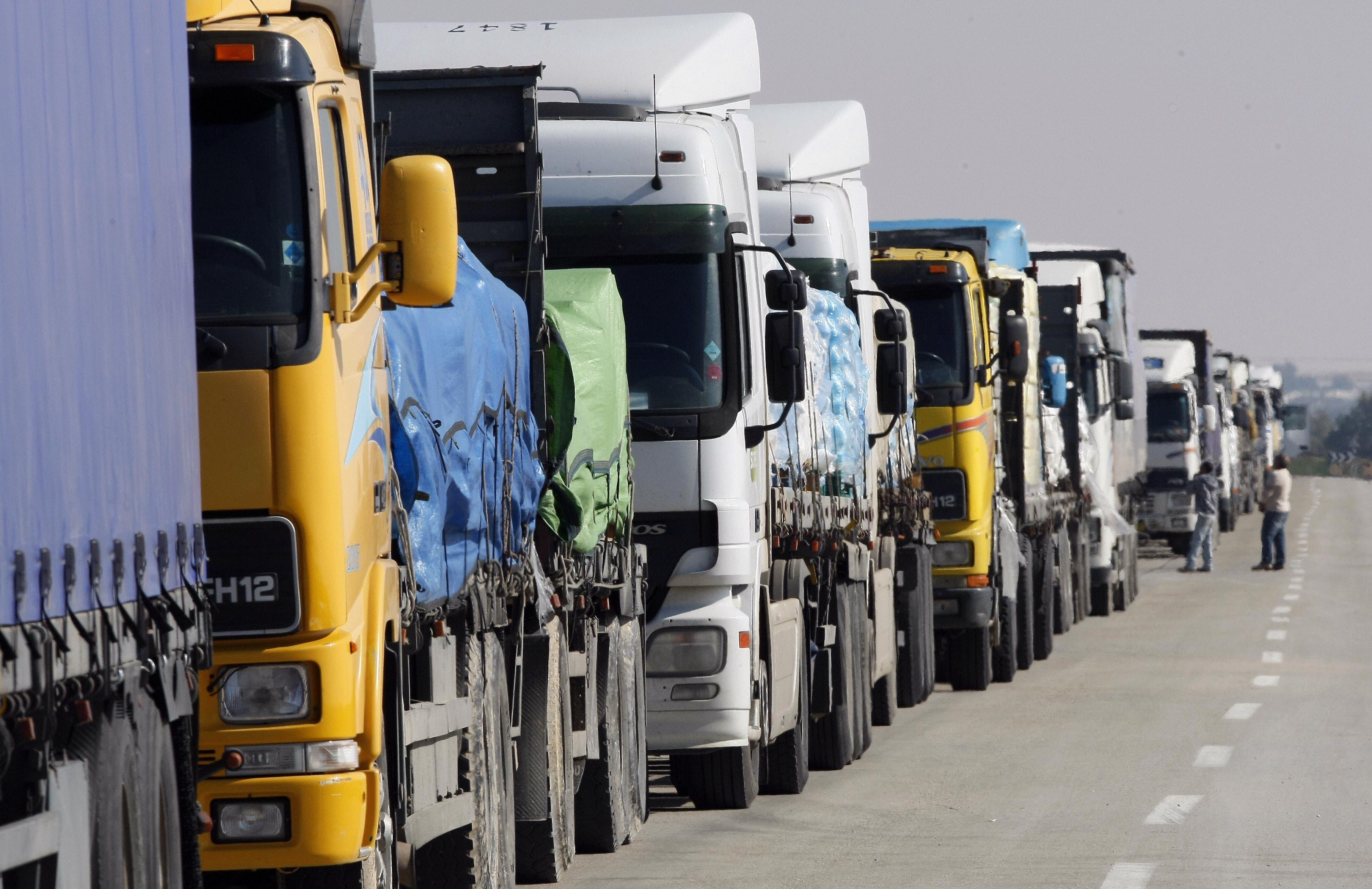 ناقلات شحن تهريب السعودية نقل بري تصدير