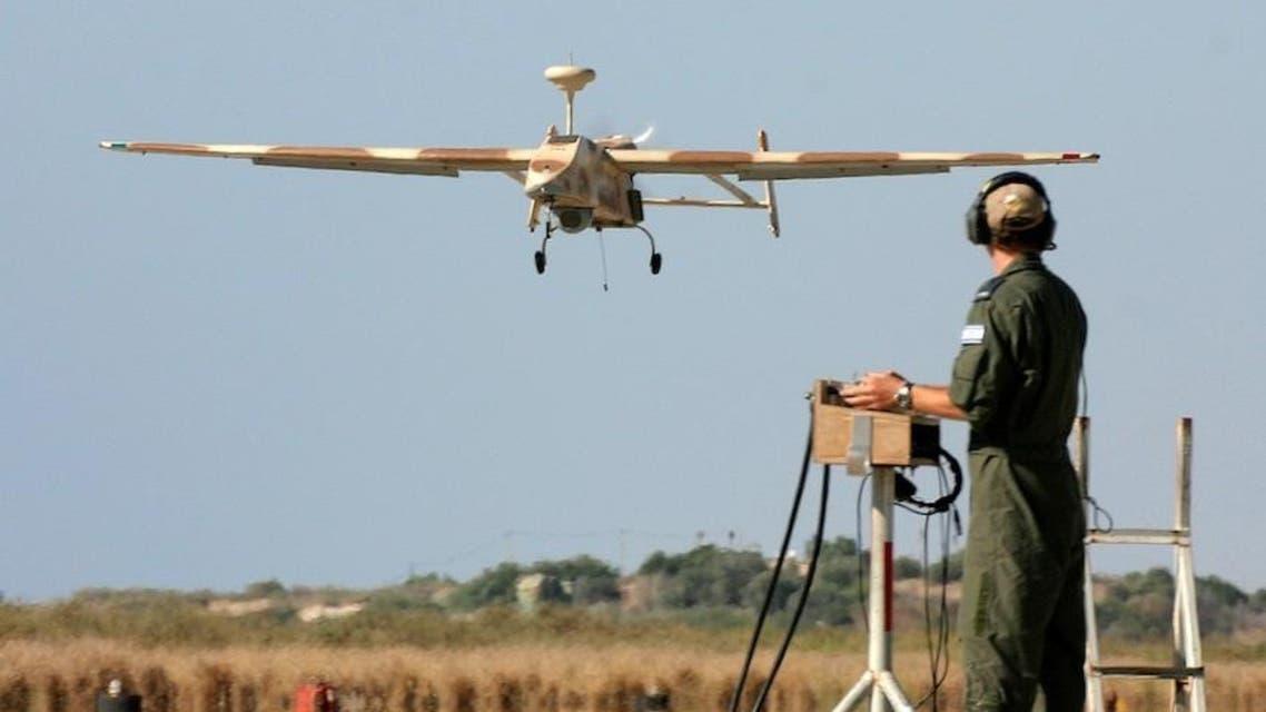 طائرة من دون طيار اسرائيلية
