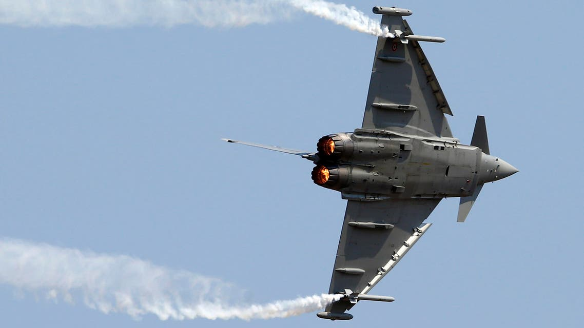 Saudi Arabia agreed to buy 72 Eurofighter jets in 2007. (File photo: Reuters)
