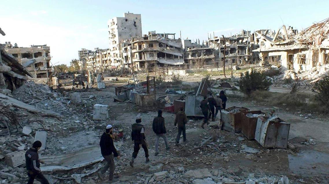 إجلاء حمص