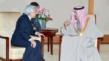 سعودی ولی عہد شہزادہ سلمان کی جاپانی شہنشاہ سے ملاقات