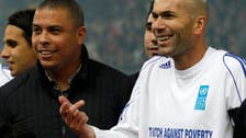 Soccer idols Zidane and Ronaldo team up in U.N. Ebola fundraiser