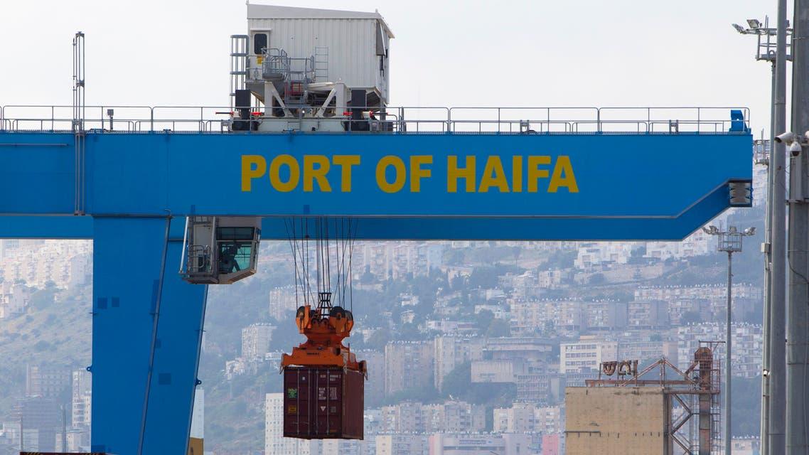 port of haifa reuters