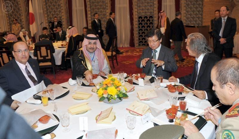 Saudi Crown Prince Salman visiting Japan