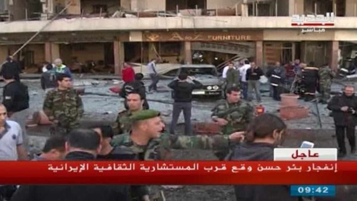 انفجار في الضاحية الجنوبية في بيروت