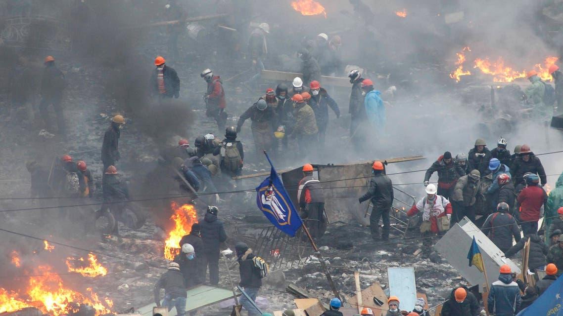 مظاهرات في أوكرانيا