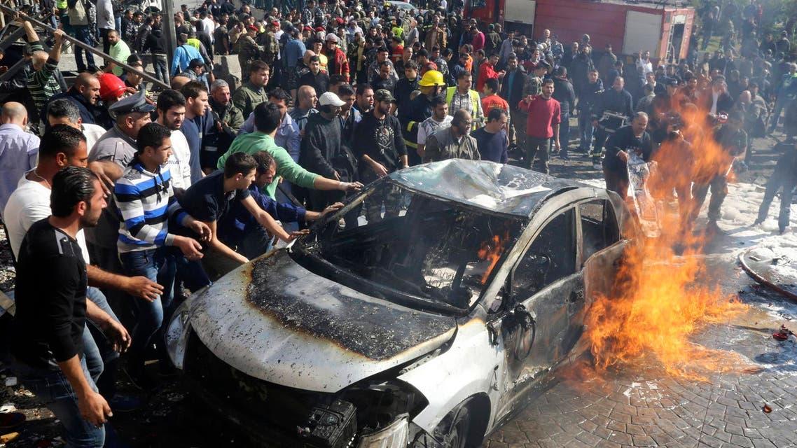Suicide blasts in Beirut