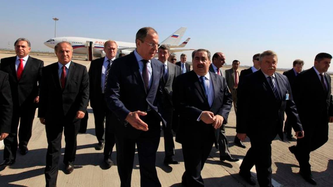 Russian Foreign Minister Sergei Lavrov visited Baghdad