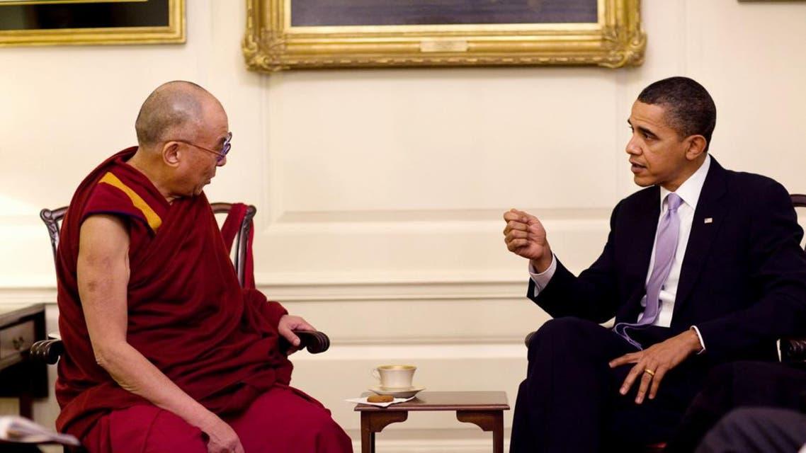 أوباما و الدالاي لاما