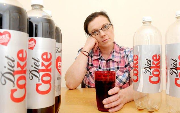 مدمنة الكوكا كولا