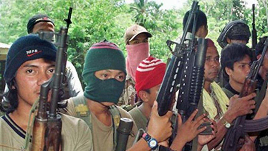 مسلحون من جماعة أبو سياف بالفلبين
