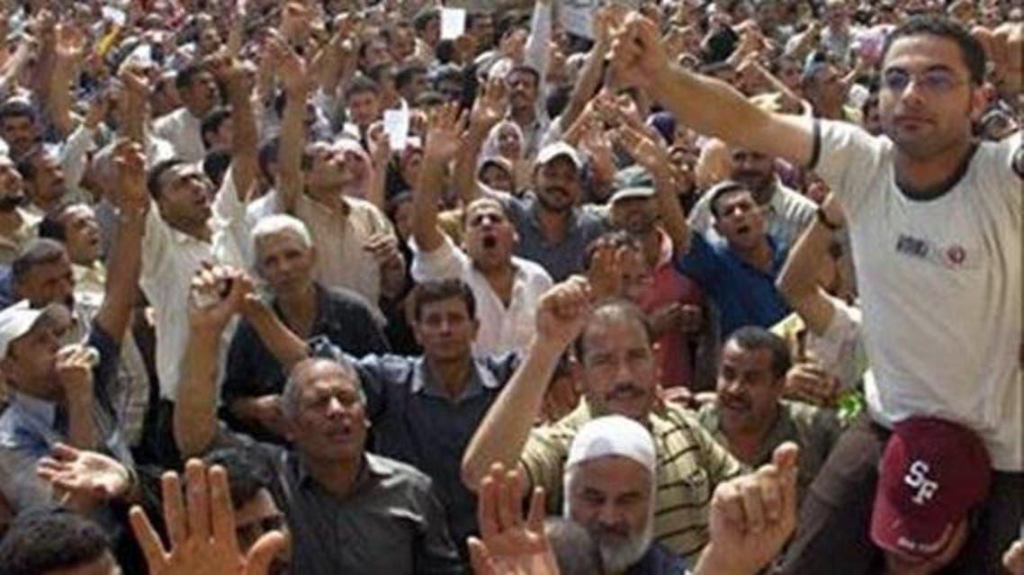 مظاهرات عمال مصنع الغزل والنسيج مصر المحلة