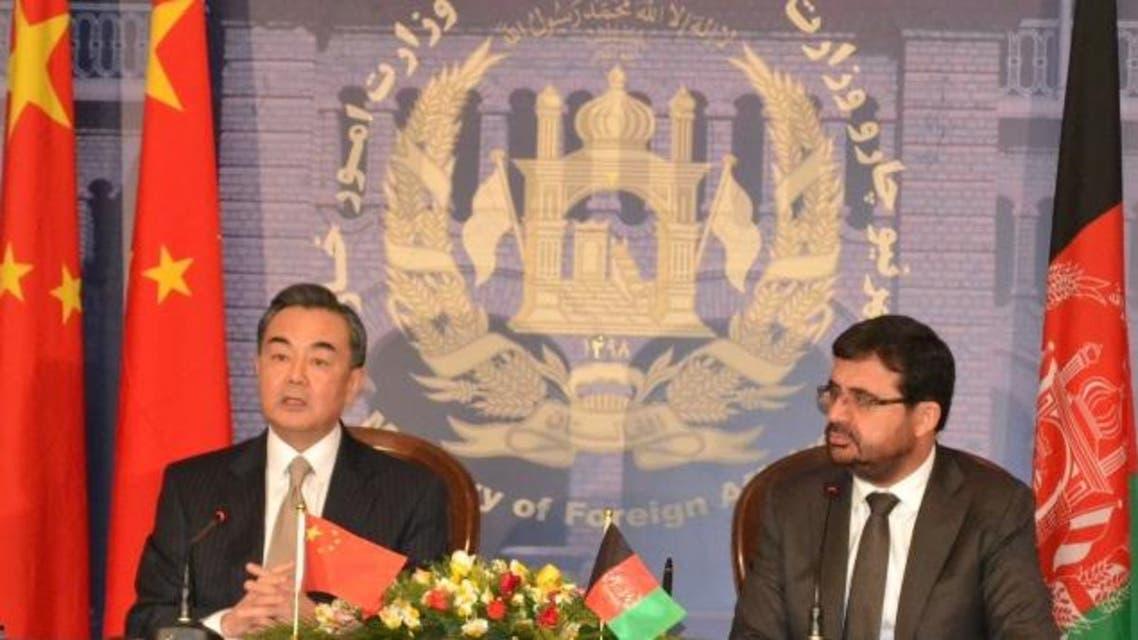 وزرای خارجه چین و افغانستان