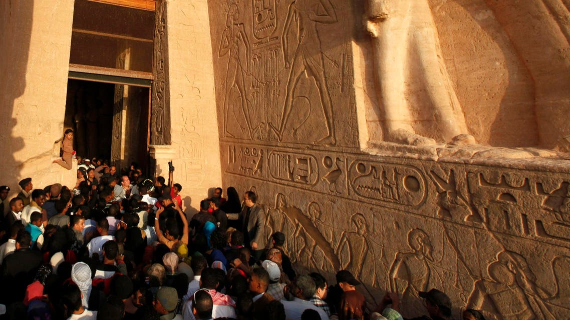 Tourists in Egypt