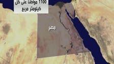 الساعة 9:55 مساء الأحد.. يبلغ سكان مصر 90 مليونا