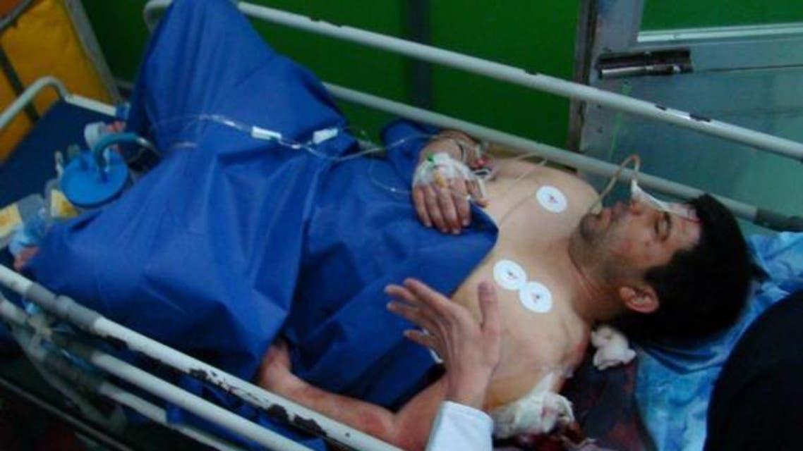 محیط بان زخمی ایرانی