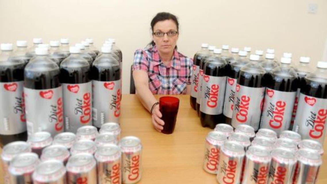 مدمنة كوكا كولا دايت