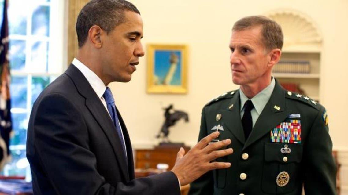McChrystal and Obama