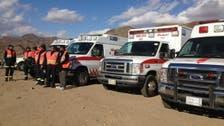 الهلال الأحمر يتلقى 633 بلاغاً عن حوادث بالباحة