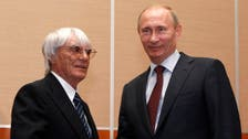 Formula 1 boss 'completely agrees' with Putin's anti-gay law