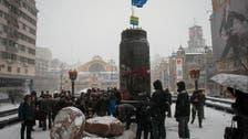 Goodbye Lenin: Statues of former Soviet leader toppled across Ukraine