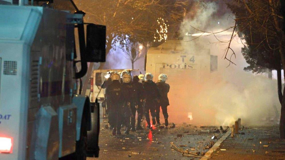 اشتباكات مظاهرات في تركيا