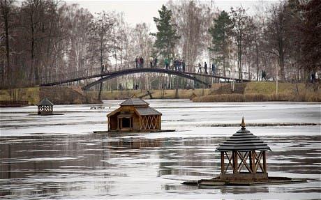 قصر الرئيس الأوكراني فيكتور يانوكوفيتش
