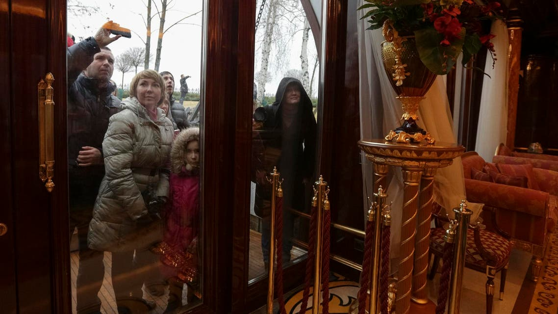 Ukrainian President's shocking opulence revealed