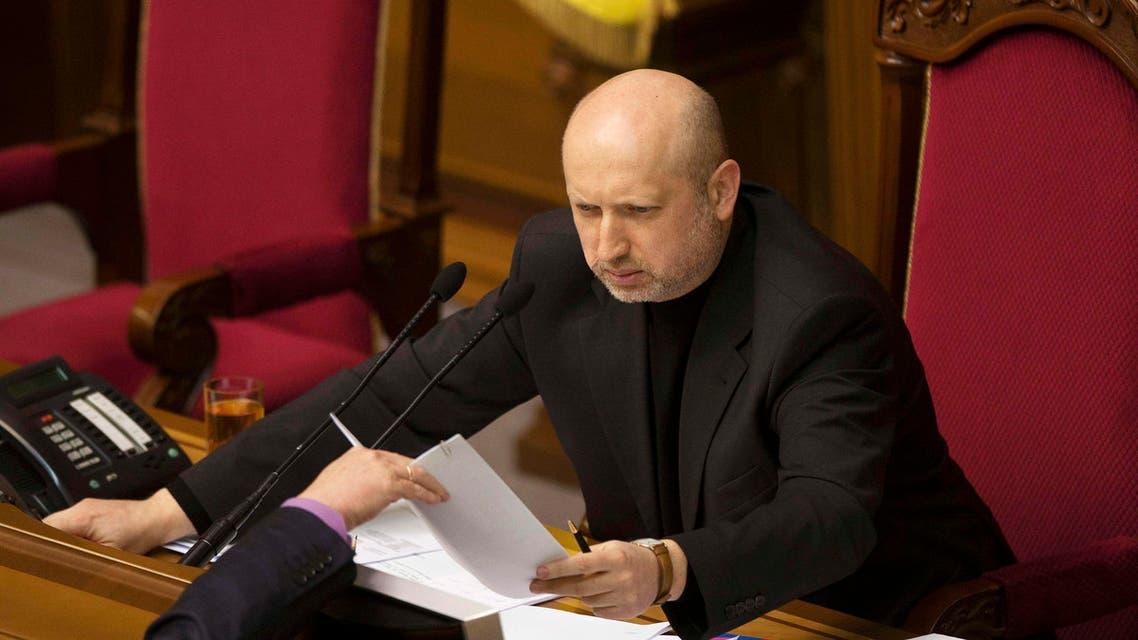رئيس البرلمان الأوكراني ألكسندر تورتشينوف