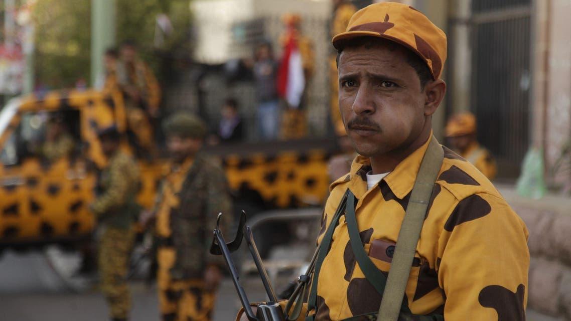 عناصر من الأمن اليمني في صنعاء