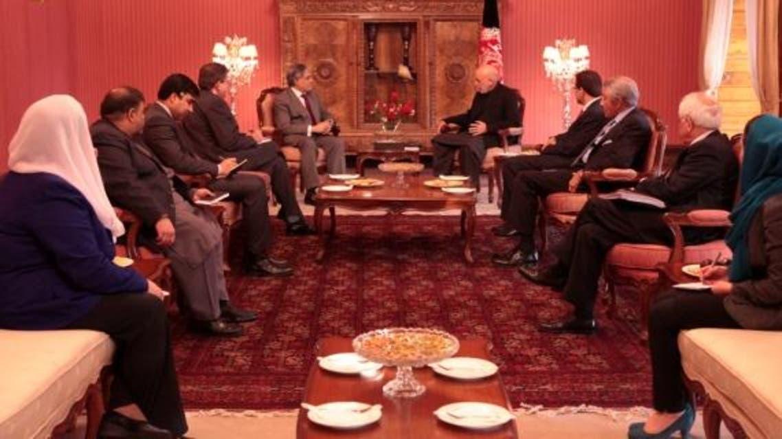 وزیر مالیه پاکستان در کابل