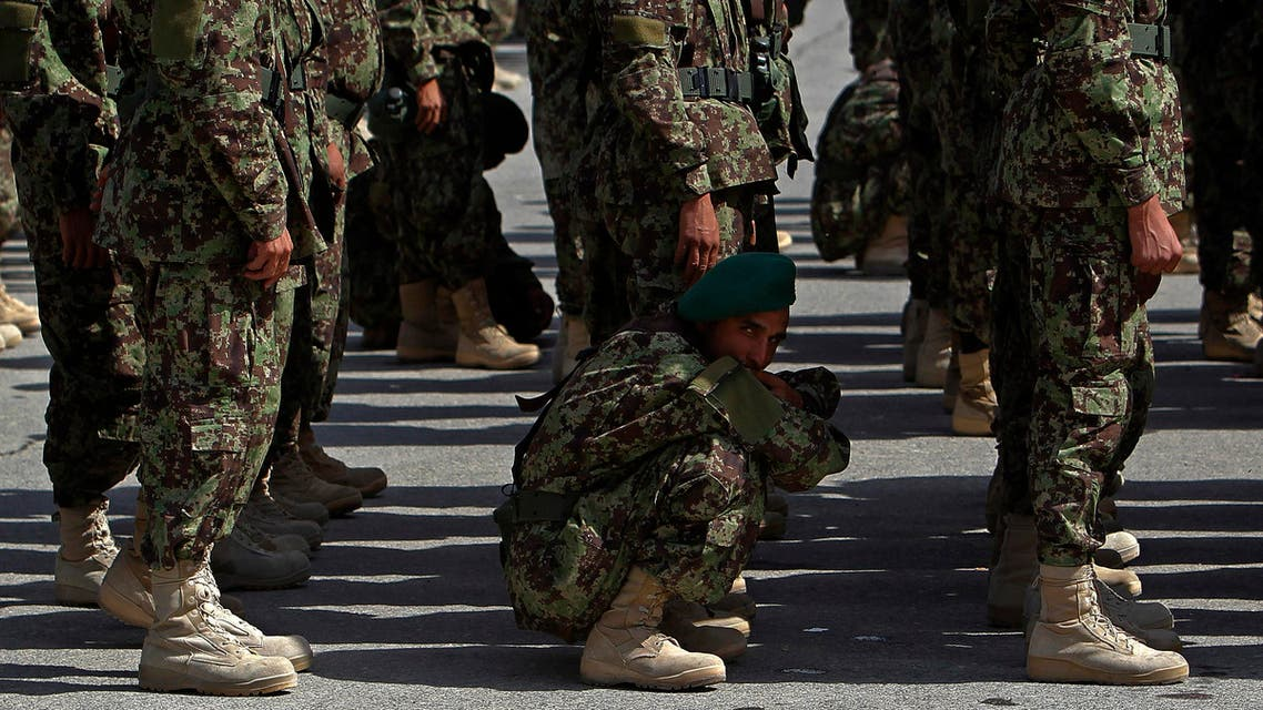Seven other soldiers were kidnapped and Afghan forces have launched an operation to free them