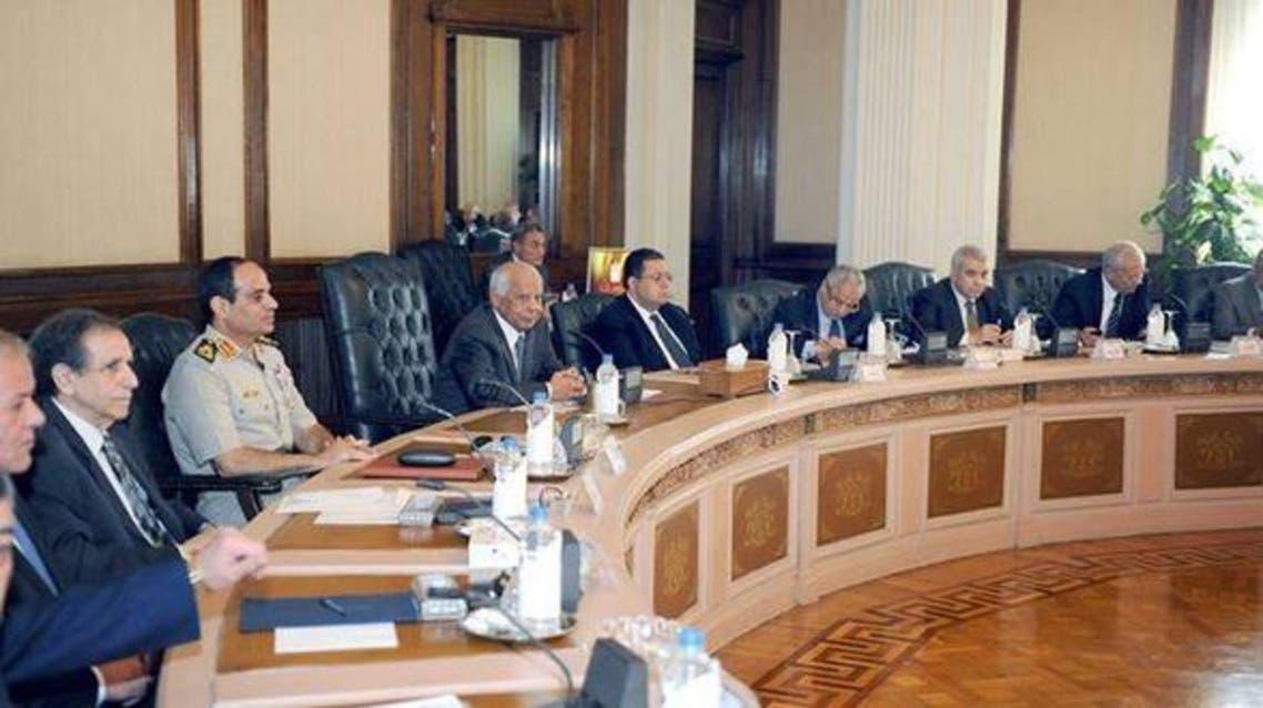 کابینه مستعفی مصر