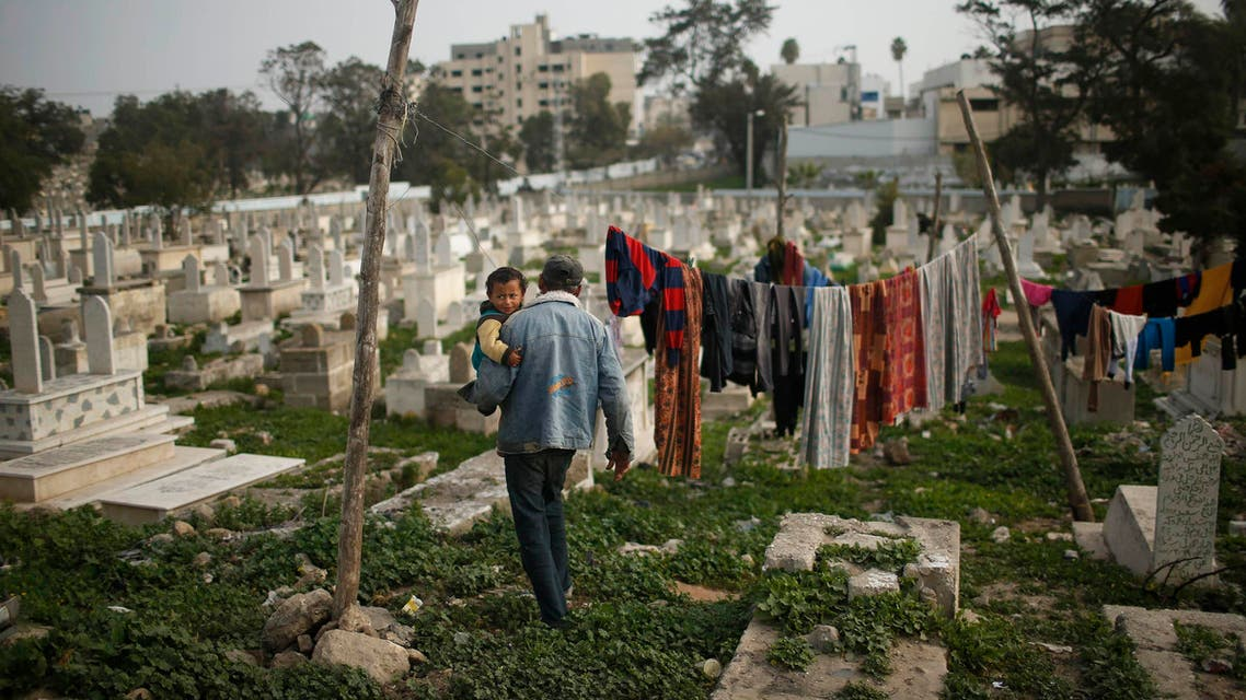 Sheikh Shaban cemetery in Gaza City