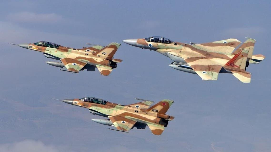مقاتلات اسرائيلية - أرشيفية